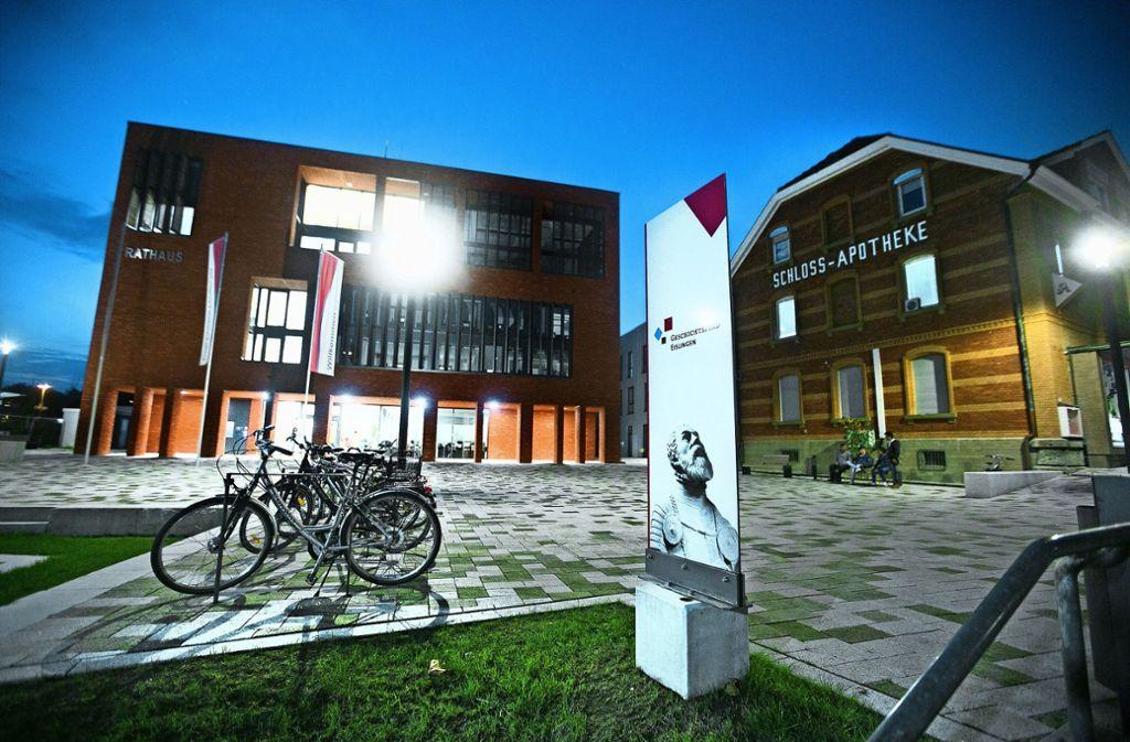Auf den neuen Gemeinderat warten viele spannende Aufgaben, darunter die Vollendung der  Stadtmitte am neuen Rathaus. Foto: Horst Rudel Foto: