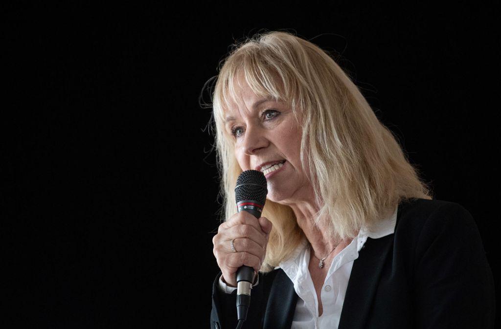 Christina Baum soll Teil des Flügels sein, der vom Verfassungsschutz als rechtsextremistischer Verdachtsfall eingestuft wird. (Archivbild) Foto: dpa/Sebastian Gollnow