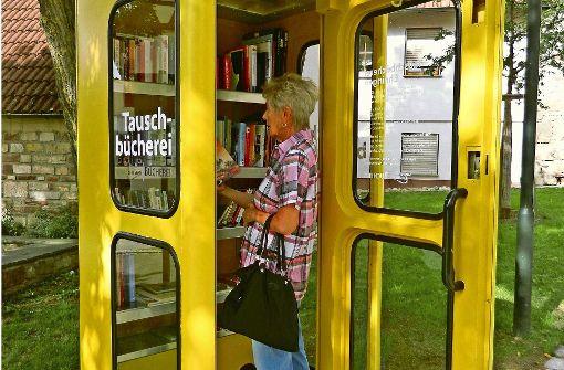 Bücher aus der Telefonzelle