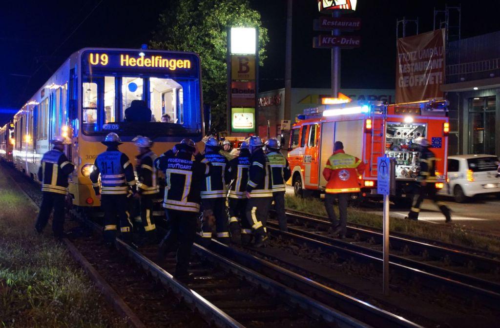 Im Stuttgarter Osten hat es einen schweren Unfall mit einer Stadtbahn gegeben. Foto: SDMG