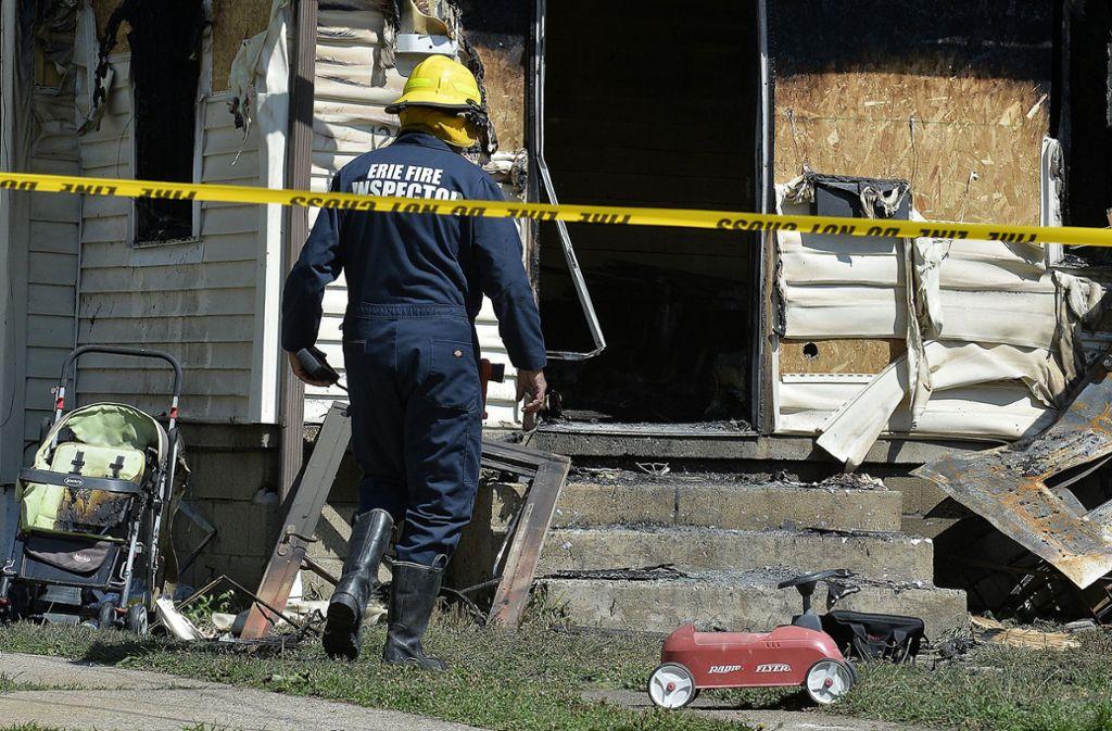 Fünf Kinder kamen bei einem Kita-Brand in Pennsylvania ums Leben. Foto: dpa
