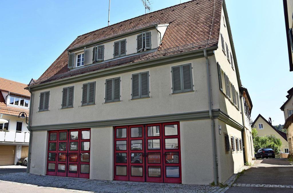 Das Domizil der Feuerwehr Untertürkheim. Die  Feuerwehr Uhlbach ist in diesem alten  Gebäude ansässig.Die Feuerwehr Wangen ist  in der alten Kelter untergebracht. Foto: