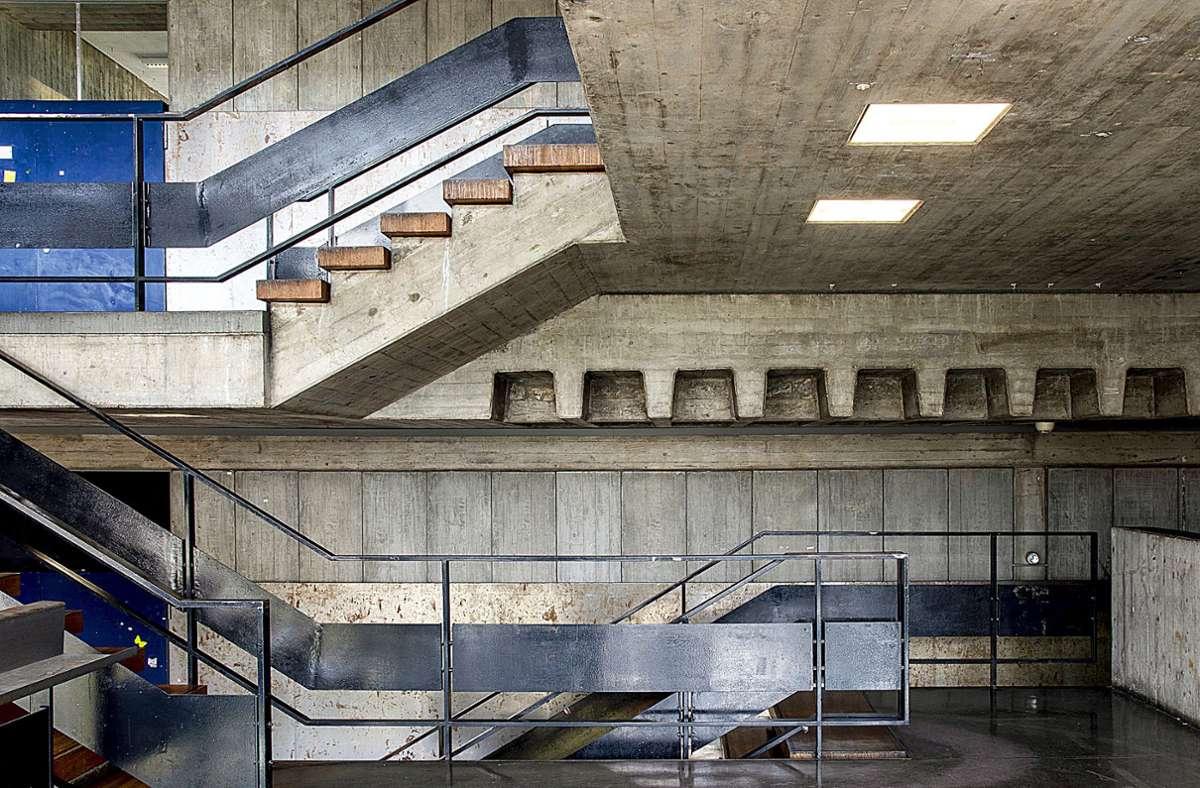 Akademie der Bildenden Künste Stuttgart am Weißenhof, Neubau 1 (Architekten: Manfred Aichele, Peter Schenk; Baujahr: 1946–1968)Foto:Sue Barr Foto: