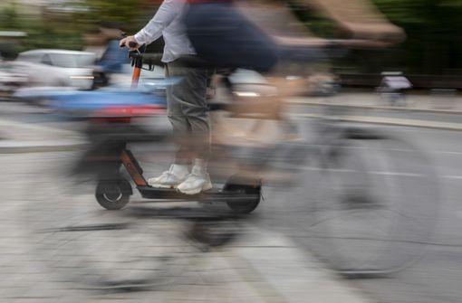 E-Scooter-Unfälle in der Stadt nehmen zu