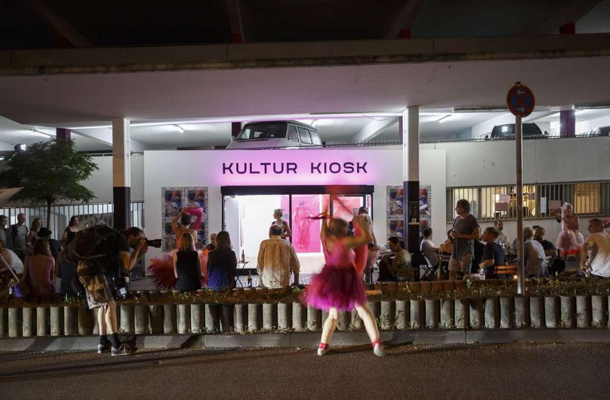 Im Kultur Kiosk gibt es seit Juli auch abends Veranstaltungen. Foto: /Lg/