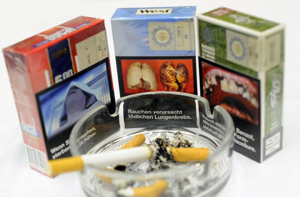Schockbilder und ihre Auswirkungen auf Raucher. Foto: dpa