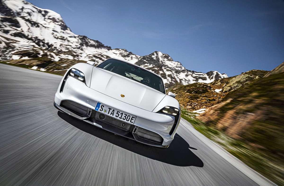 Die Batteriezellen für den elektrischen Porsche Taycan kommen vom koreanischen Lieferanten LG Chem. Foto: Porsche