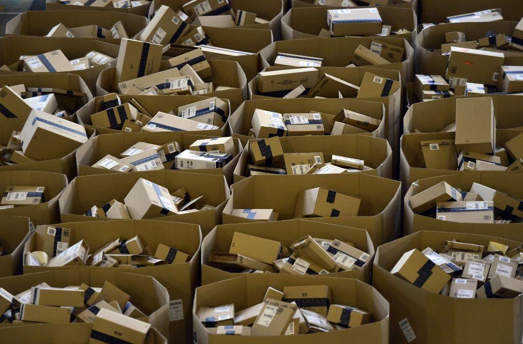 """Für Amazon ist der """"Black Friday"""" ein besonders umsatzstarker Tag. Foto: AFP"""