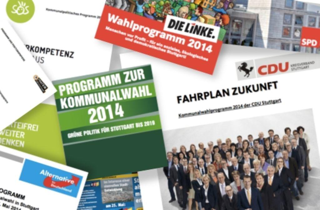 In den Wahlprogrammen zur Kommunalwahl sind einige komplizierte Fachausdrücke enthalten.  Foto: Rebecca Beiter und Daniel Kähler