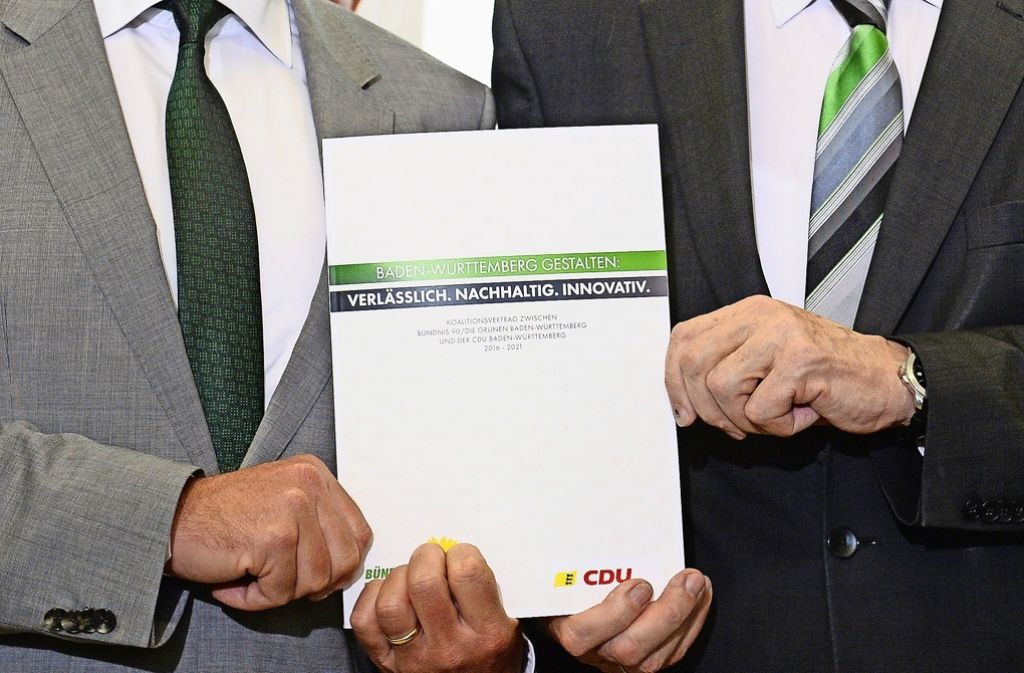 Koalitionsvertrag Baden-Württemberg