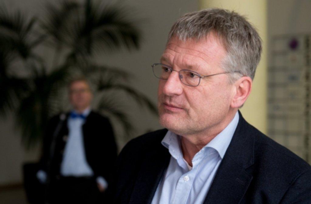 """""""Wir können nicht nur eine Partei der Geringverdiener und Arbeitslosen sein"""", sagte der Co-Vorsitzende der AfD, Jörg Meuthen, dem """"Spiegel"""" Foto: dpa"""