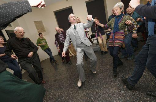 Herr Baumann würde tanzen