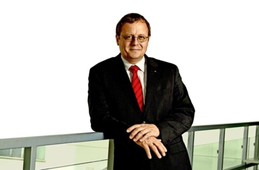 Johann-Dietrich Wörner (60) leitet derzeit das Deutsche Zentrum für Luft- und Raumfahrt. Im Juli 2015 wird er Generaldirektor der Europäischen Raumfahrtagentur (Esa). Foto: DLR