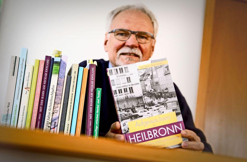 Jürgen Schedler beschreibt seine  Kindheits- und Jugendjahre. Foto: factum/Granville