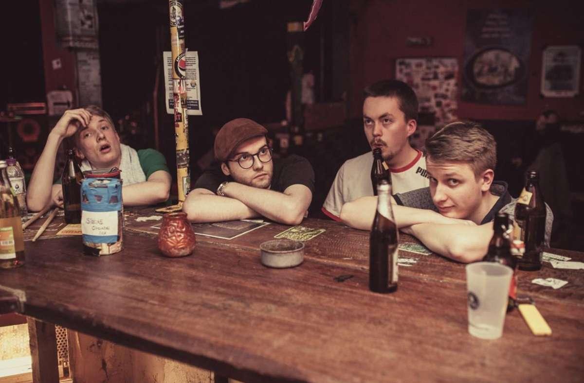 Die Band Xylospongium macht deutschsprachige Rockmusik. Foto: Promo