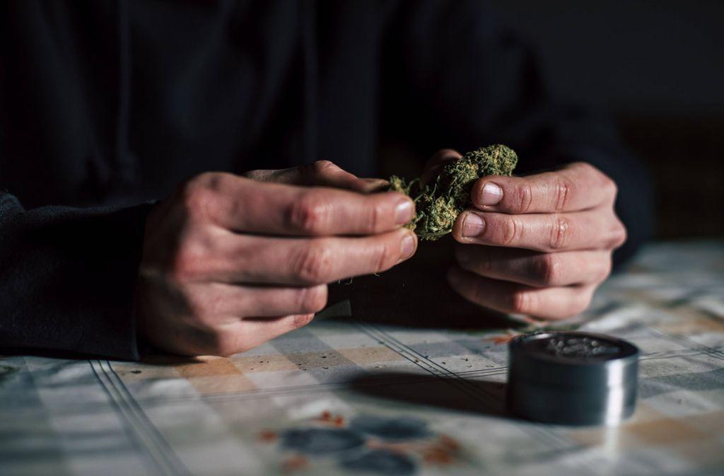 Gefunden wurden mehrere Kleinstmengen Marihuana, die sich jedoch keiner konkreten Person zuordnen ließen. (Symbolbild) Foto: imago images/Aitor Carrera Porté