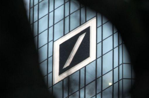 """Deutsche Bank nennt Klage von Stuttgarter Geschäftsmann """"substanzlos"""""""