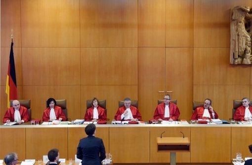 Es gibt für die Richter des Bundesverfassungsgerichtes  nachvollziehbare Gründe dafür, die Einschätzungen des Europäischen Gerichtshofes in Frage zu stellen. Foto: dpa