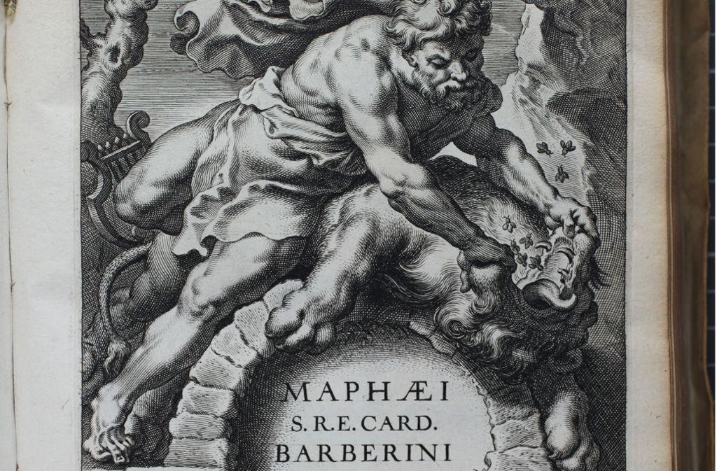 Dramatische Szene: Auch die Titelblätter, die Rubens für Bücher entward, wurden oft kopiert- wie hier von Cornelis Galle (1576-1650) Foto: Büttner