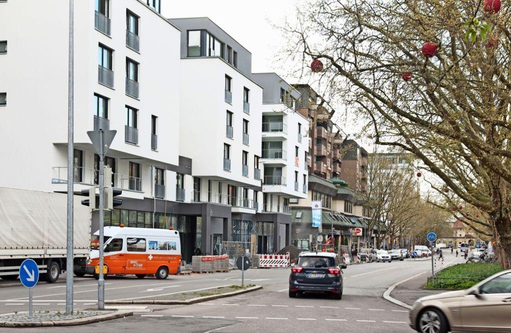 Bald zieht in die  Mercedesstraße neues Leben ein: ein Netto-Markt kommt.Foto:factum/Granville Foto: