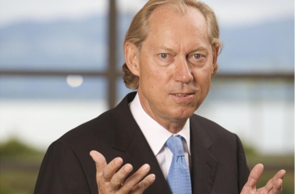 """Werner Mang glaubt an das """"Karriere-Gen"""". Foto: Klaus-Reiner Klebe"""