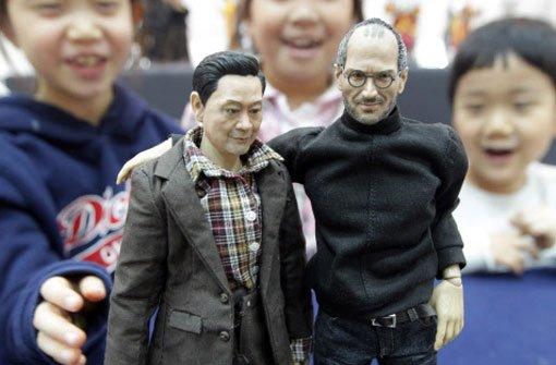 Steve-Jobs-Puppe doch nicht zu kaufen