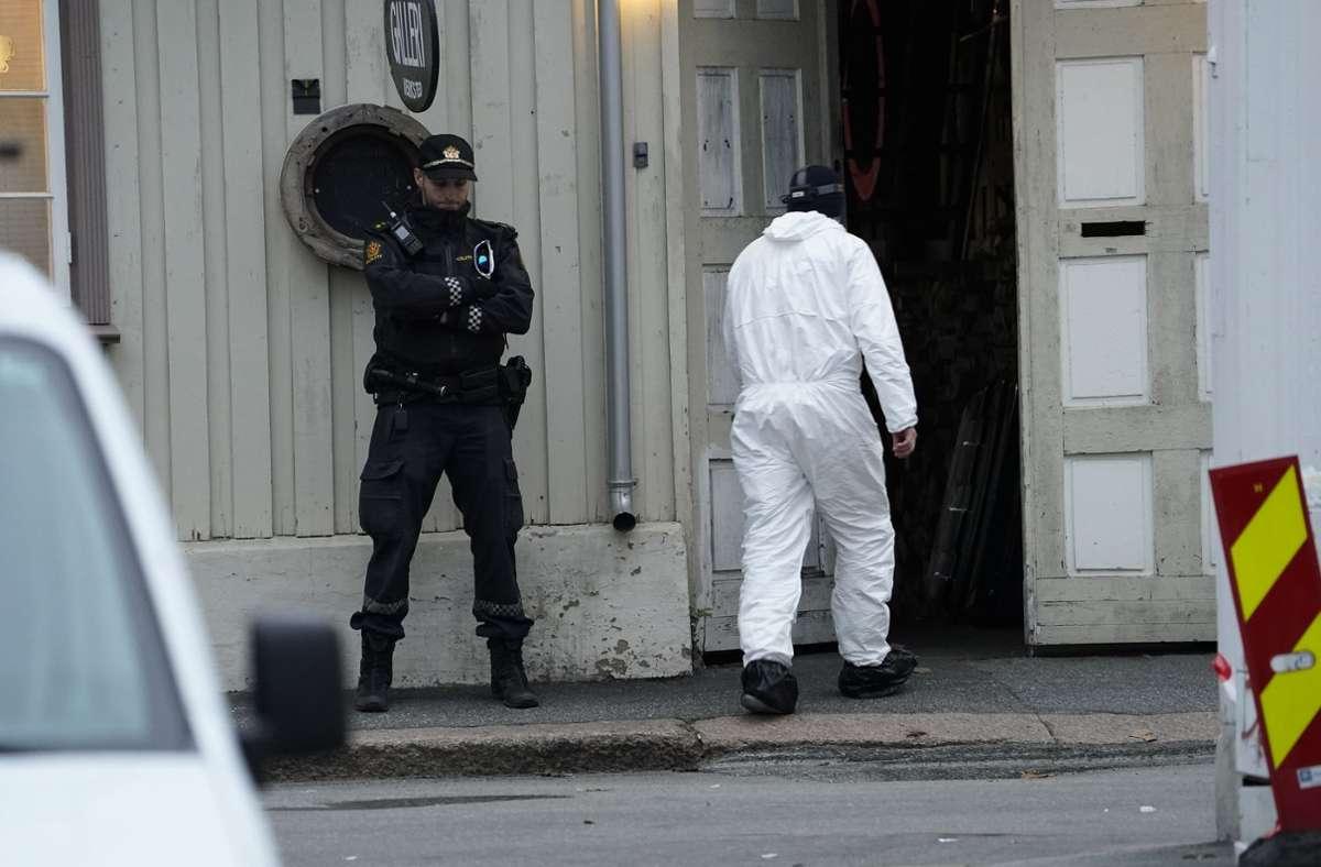 Die Ermittlungen in Norwegen laufen auf Hochtouren. Foto: dpa/Terje Bendiksby