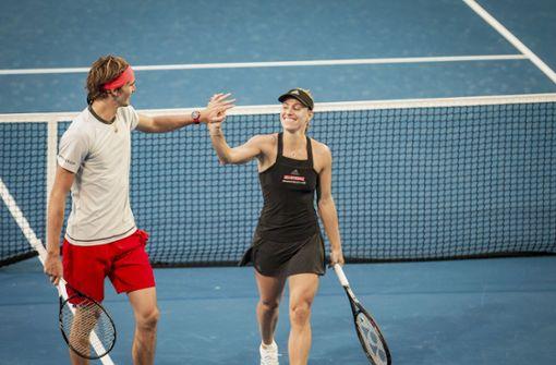 Angelique Kerber und Alexander Zverev erreichen Finale