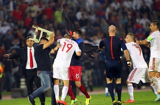 Spiel in Serbien nach Schlägerei abgebrochen
