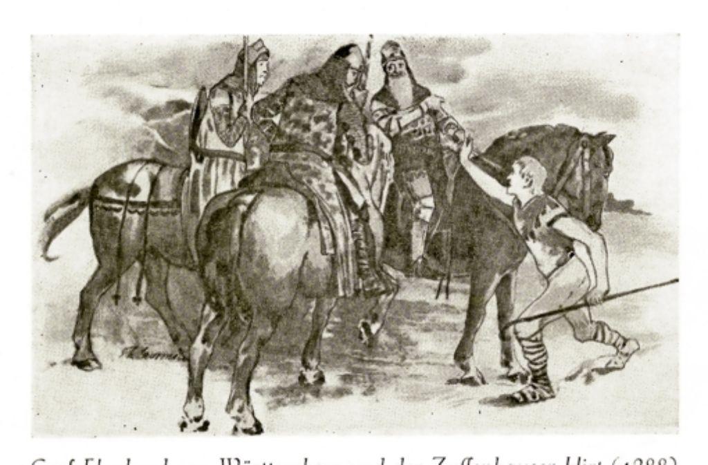 Nach einer Zeichnung von Professor Laurmann: Zur Erinnerung an den alten Bürgerverein (1874 bis 1934). Foto: privat