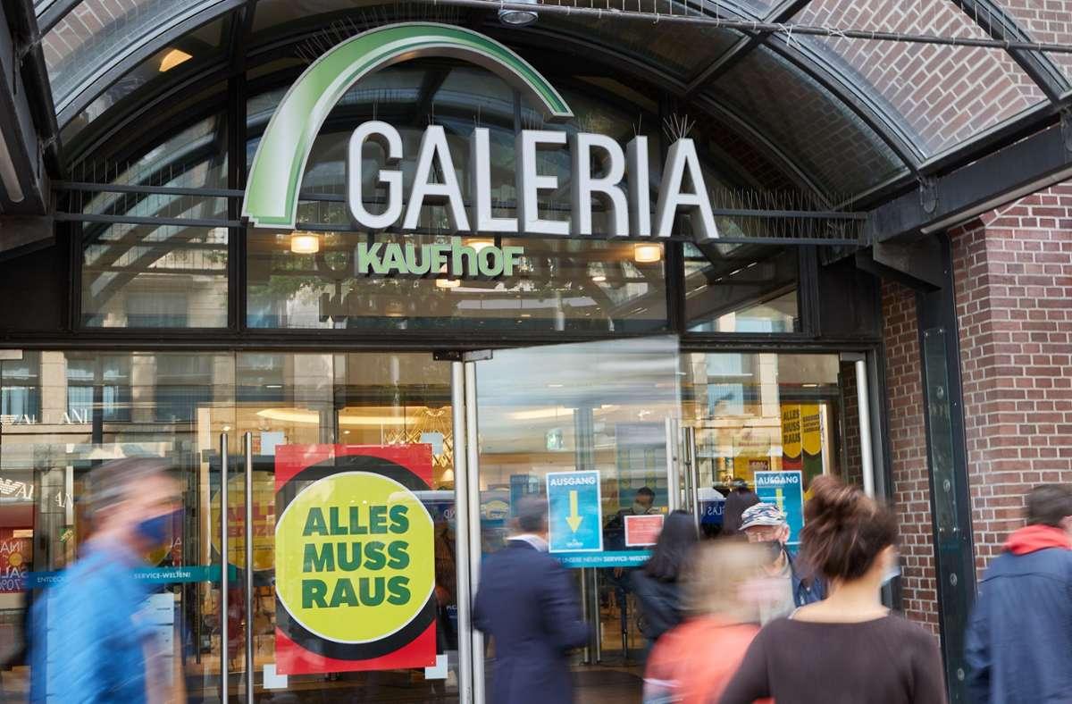 Gläubiger von Galeria Karstadt Kaufhof verzichten auf mehr als zwei Milliarden Euro. Foto: dpa/Georg Wendt