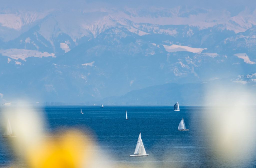 Der Bodensee ist nicht nur unter Schwaben ein beliebtes Reiseziel. Foto: dpa