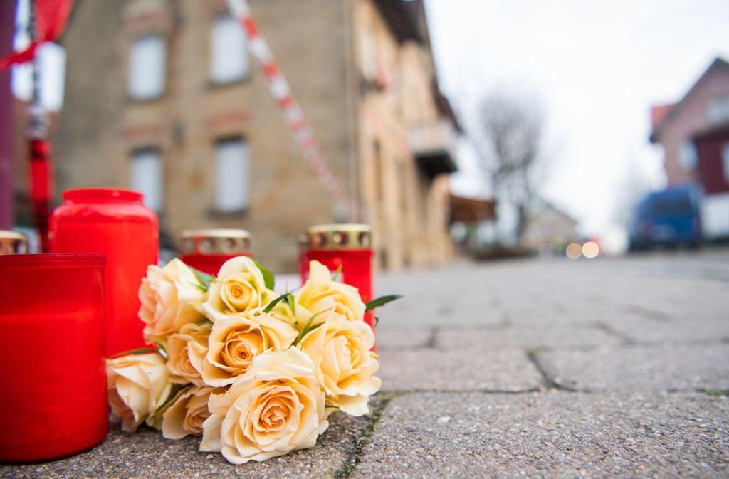 Ein 26-Jähriger soll in Rot am See sechs Verwandte erschossen haben. Foto: dpa/Tom Weller