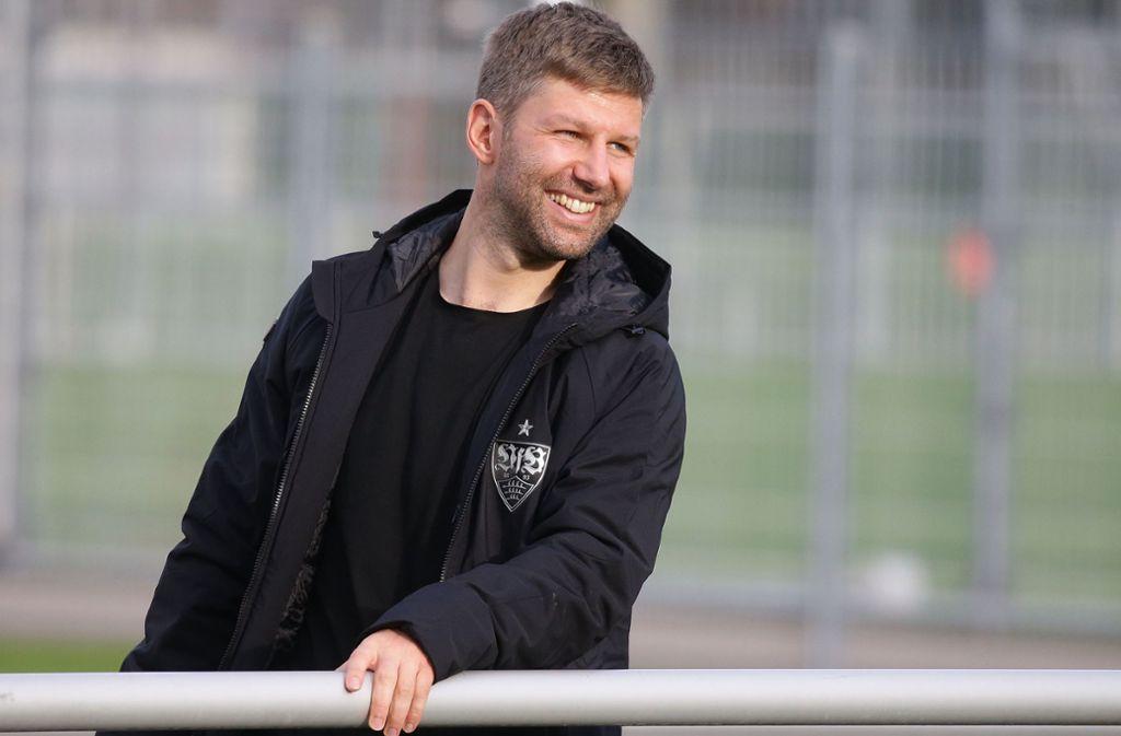 Thomas Hitzlsperger legt den vollen Fokus auf den VfB Stuttgart. Foto: Pressefoto Baumann/Hansjürgen Britsch