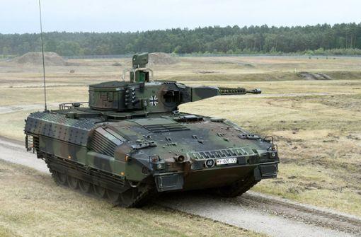 Die Grenzen der Rüstungsexporte
