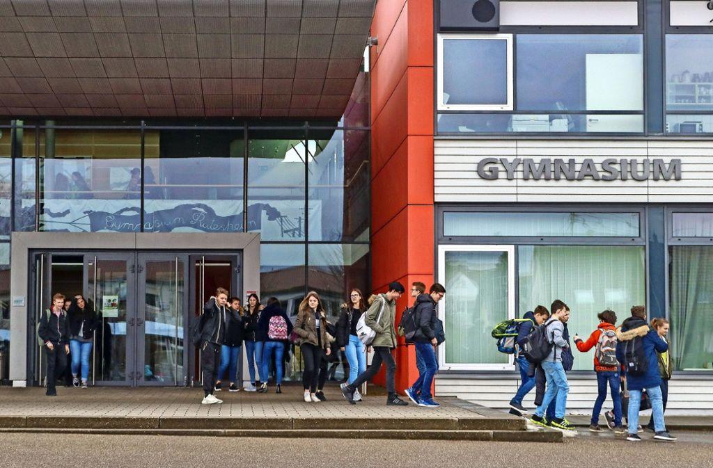 Die Rutesheimer  Schule ist bei Eltern und Schülern sehr   beliebt. Die   große Zahl der   Anmeldungen   lässt sie aber  an die Grenzen ihrer Kapazität stoßen. Foto: factum/Granville
