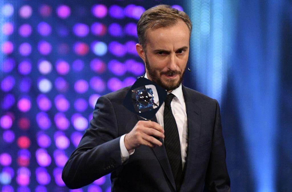 Der Morderator Jan Böhmermann erhielt im Jahr 2017 den Grimmepreis. Foto: dpa