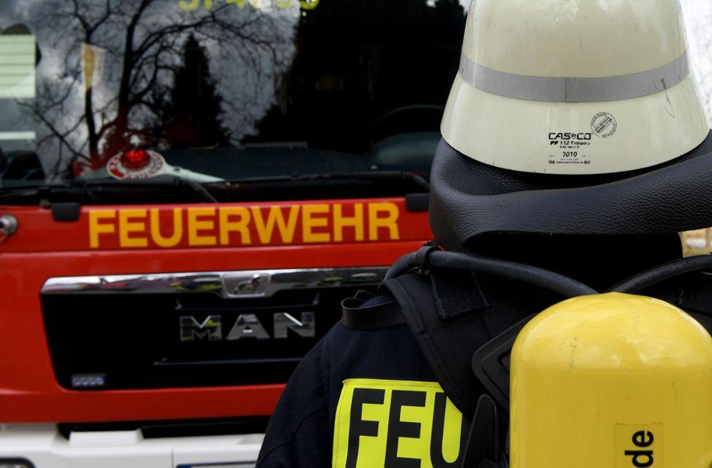 Die Feuerwehr Böblingen löschte den Brand auf der A81. Foto: dpa