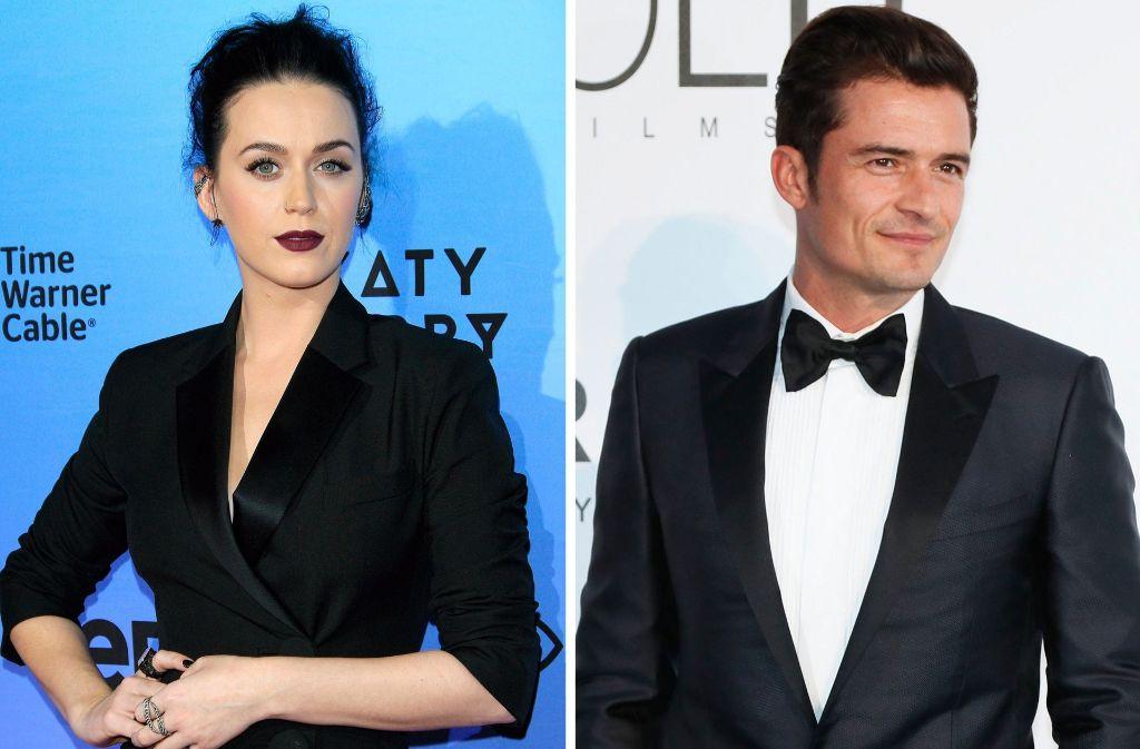 Schönes Paar: Katy Perry und Orlando Bloom haben ihre Beziehung vorerst auf Eis gelegt. Foto: dpa