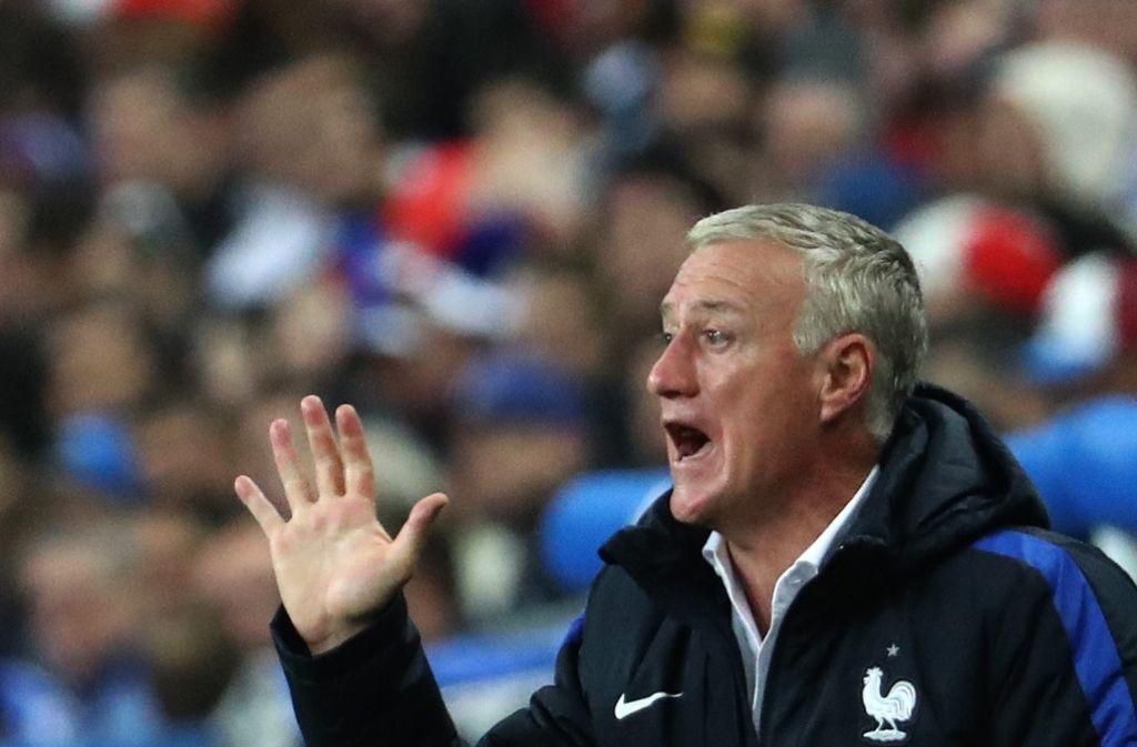 Didier Deschamps steht in den Augen von Gilbert Gress für den französischen Aufschwung. Foto: EPA