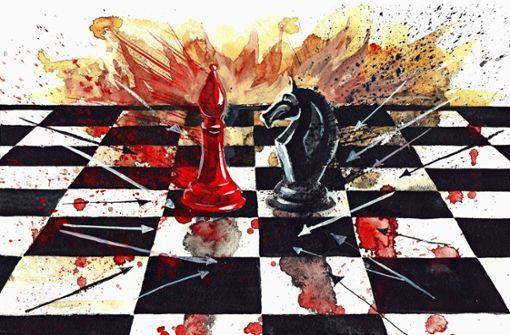Liebe, Schach und Zärtlichkeiten