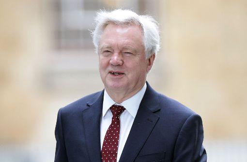 Minister: Großbritannien hält am harten Kurs fest