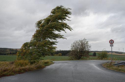 """So sehr wütet Herbststurm """"Ignatz"""" in Deutschland"""