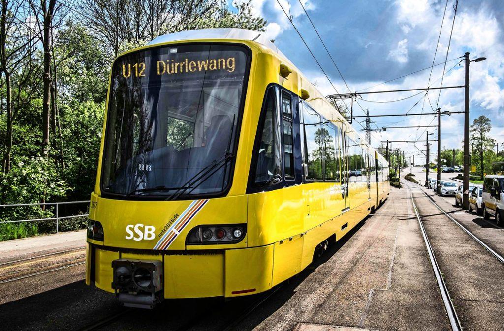 Mit Verlegung des Streckenasts nach Dürrlewang hat der Lärm an der Ernsthaldenstraße zugenommen, sagt ein Anwohner. Foto: Lichtgut/Max Kovalenko