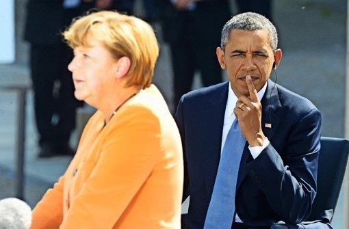 USA verweigern Merkel Einblick