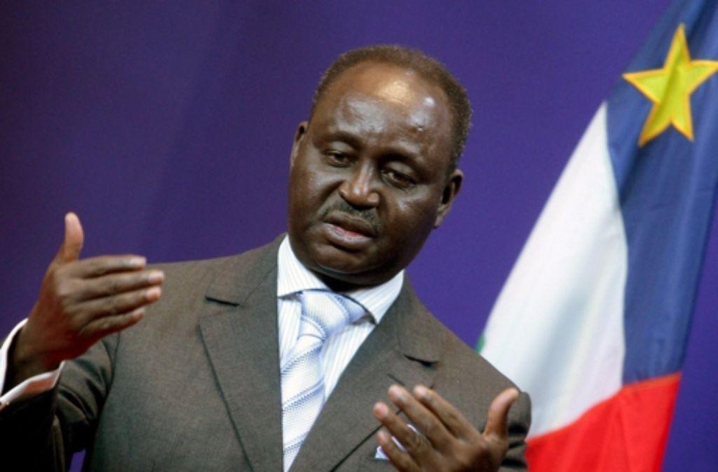 Der Präsident der Zentralafrikanischen Republik, François Bozizé, der einst selbst durch einen Putsch an die Macht kam, wurde von  Rebellen in die Flucht geschlagen. Foto: dpa