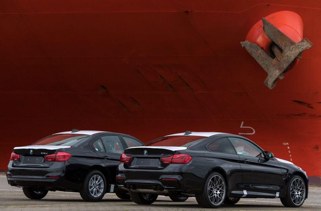 Noch können deutsche Autos ohne Probleme nach Großbritannien verkauft werden, wie lange noch? Foto: dpa