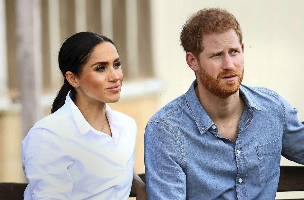 Herzogin Meghan und Prinz Harry – wie geht es für sie weiter? Foto: dpa/Chris Jackson