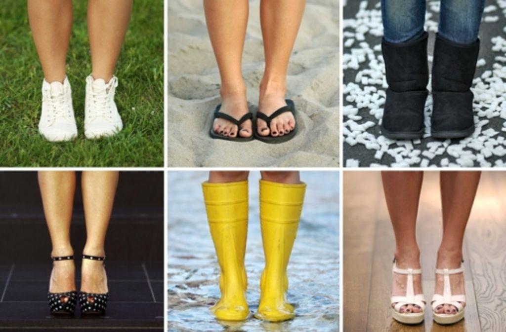Pumps, Boots, Sandalen: Schuhe gibt in allen möglichen Formen. Foto: dpa