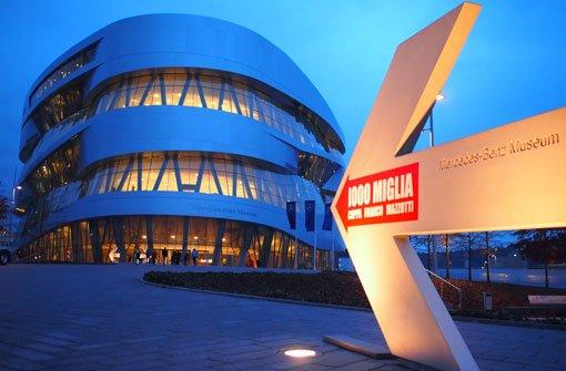 Bei der 23. Social Media Night im Mercedes-Benz-Museum geht es um Kundenservice im Social Web. Foto: Leserfotograf burgholzkaefer